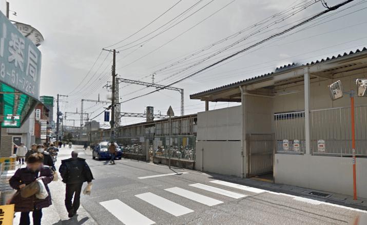 たくまデンタルクリニックへの駅からの道順1
